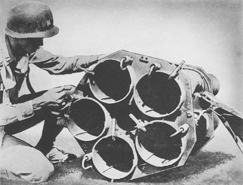 21 cm Nebelwerfer 42: Rocket Projector