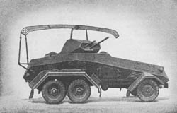 s. Pz. Sp. Wg. (Fu.) (Sd. Kfz. 232): Heavy Armored Scout Car