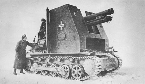 Gw. I für 15 cm s.I.G. 33: S.P. Heavy Infantry Howitzer -- Bison I