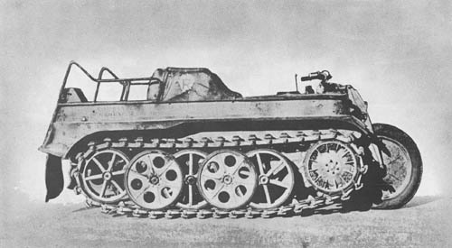 Kettenkrad - kl. K. Kw. (Sd. Kfz. 2): Motorcycle Tractor