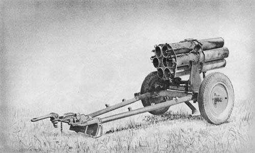 15 cm Nebelwerfer 41: Rocket Projector