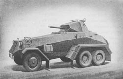 s. Pz. Sp. Wg. (Sd. Kfz. 231): Heavy Armored Scout Car 6-rad