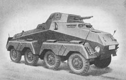 s. Pz. Sp. Wg. (Sd. Kfz. 231) (8 Rad): Heavy Armored Scout Car (8 Wheels)