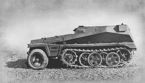 l. gp. Beob. Kw. (Sd. Kfz. 253): Light Armored Reconnaissance Car -- SdKfz 253 leichter Gepanzerter Beobachtungskraftwagen