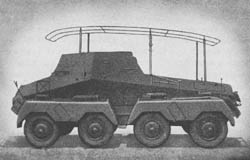 Pz. Fu. Wg. (Sd. Kfz. 263) (8 Rad): Armored Radio Car