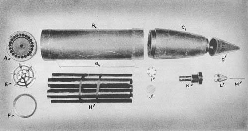 21 cm Wgr. 42 Spr. Mit Hbgr. Z35K: 21cm Rocket Projectile