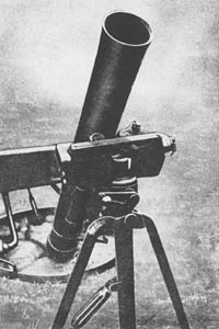 12 cm s. Gr. W. 42: German Heavy Mortar 120mm WW2
