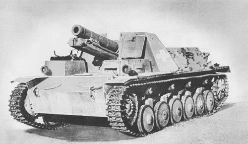 Gw. II für 15 cm s.I.G. 33: S.P. Heavy Infantry Howitzer