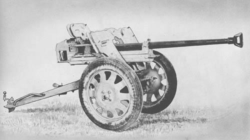 2.8/2.0 cm Pz. B. 41: Tapered Bore Antitank Gun