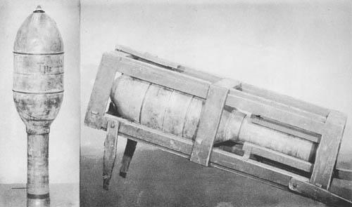 32 cm Wurfkörper M. Fl. 50: 32 cm Rocket Projectile (Incendiary)