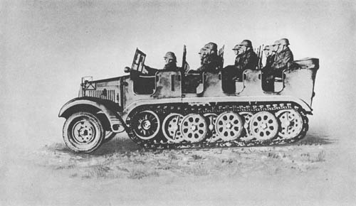 m. Zgkw. 5t (Sd. Kfz. 6): Medium Semitrack Prime Mover