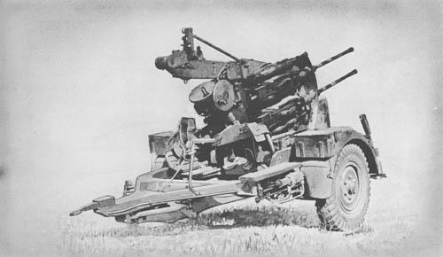 2 cm Flakvierling 38: A.A./A.T. Gun