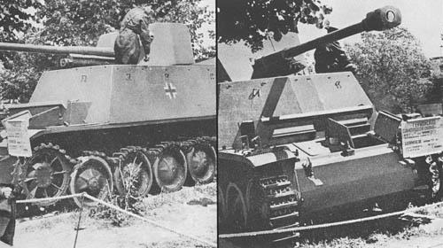 Pz. Jäg. II Aus D, E für 7.62 cm Pak 36 (Sd. Kfz. 131): S.P. Antitank Gun (Russian)