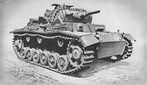 Pz. Kpfw. III Ausf. F, G, H (Sd. Kfz. 141): Medium Tanks