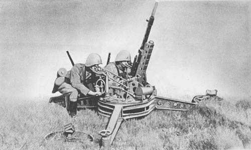 2 cm Flak (Madsen): A.A./A.T. Gun (Ex-Danish)