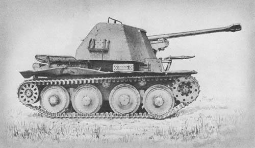 Pz. Jäg. 38 für 7.5 cm Pak 40/3 (Sd. Kfz. 138): S.P. Antitank Gun (on Czech Chassis)
