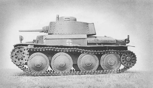Pz. Kpfw. 38 (t): Light Tank (Czech)