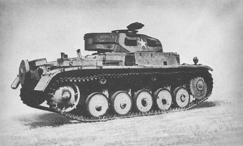 Pz. Kpfw. II Ausf. F (Sd. Kfz. 121): Light Tanks