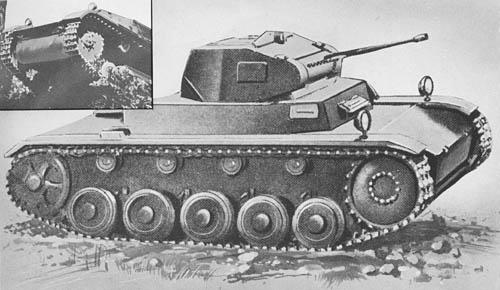 Pz. Kpfw. II Ausf a1, a2, a3, b, c: Light Tanks