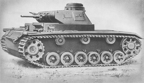 Pz. Kpfw. III Aus. A, B, C, D, E (Sd. Kfz. 141): Medium Tanks