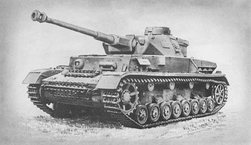 Pz. Kpfw. IV Aus. F1, F2, G, H, K (Sd. Kfz. 161): Medium Tanks