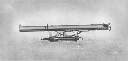 Panzerschreck Rocket Launcher: 8.8 cm Racketenpanzerbüchse 43 (8.8 cm R PzB 43) and 8.8 cm Racketenpanzerbüchse 54 (8.8 cm R PzB 54) Rocket Launchers