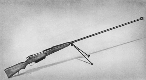 7.92 mm PzB 35 (p): Antitank Rifle (Ex-Polish)