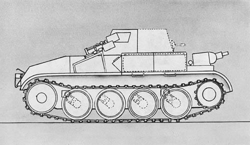 Pz. Kpfw. II (F) (Sd. Kfz. 122): Flamethrower Tank