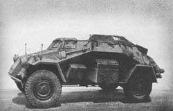 kl. Pz. Fu. Wg. (Sd. Kfz. 260): WWII Small Armored Radio Car
