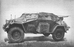 kl. Pz. Fu. Wg. (Sd. Kfz. 261): Small Armored Radio Car