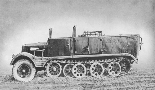 l. Zgkw. 3t (Sd. Kfz. 11): Light Semitrack Prime Mover