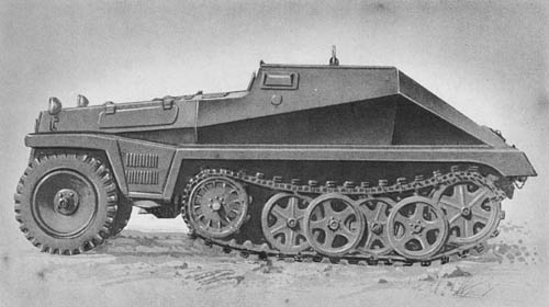 l. gp. Man. Trsp. Kw. (Sd. Kfz. 252): Light Armored Ammunition Carrier