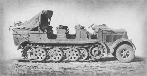 m. Zgkw. 8 t (Sd. Kfz. 7): Medium Halftrack Semitrack Prime Mover