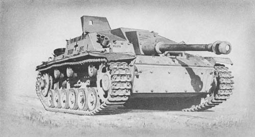 StuG III: Sturmgesch&uuml;tz 7.5 cm Stu. K. 40 (Sd. Kfz. 142): S.P. Assault Gun