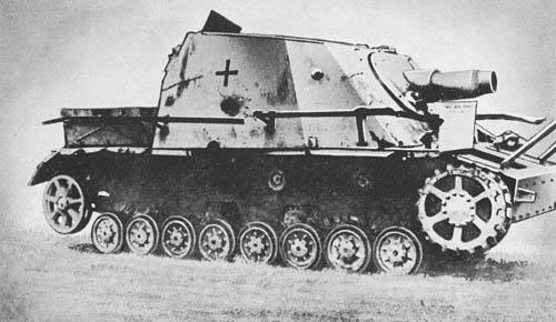 """Stu. G. IV (""""Brummbaer"""") für 15 cm Stu. H. 43 (Sd. Kfz. 166): S.P. Heavy Infantry Gun """"Grizzly Bear"""""""