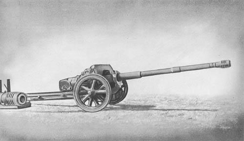 7.5/5.5 cm Pak 41: Tapered Bore Antitank Gun