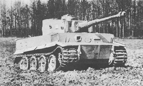 """Pz. Kpfw. """"Tiger"""" (8.8 cm Kw. K. 36 L/56) (Sd. Kfz. 181): Heavy Tank """"Tiger"""""""