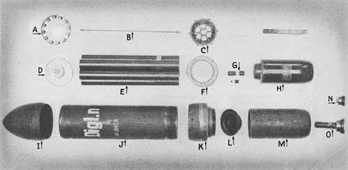 15 cm Wurfgranat 41: 15 cm Rocket Projectile