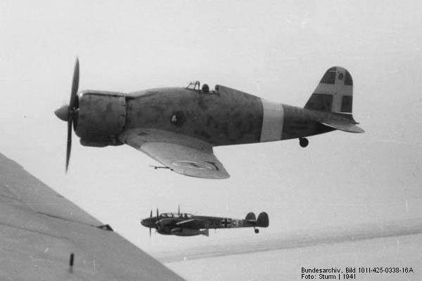 Fiat g.50 freccia - world war ii italian fighter aircraft