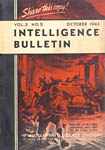 [October 1943 Intelligence Bulletin Cover]