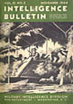 [Intelligence Bulletin Cover, November 1944]