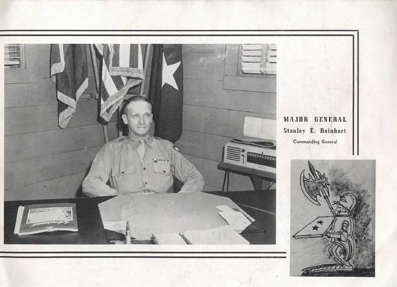 Maj. Gen. Reinhart