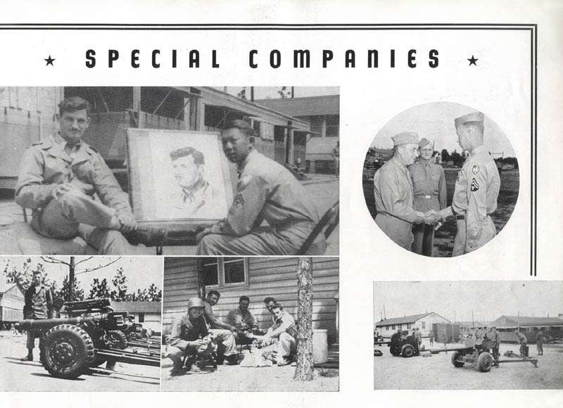 Special Companies, 260th Infantry