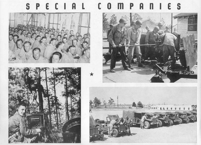 Special Companies, 261st Infantry