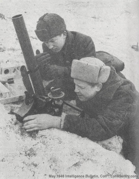 Lone Sentry: On the Way, The Employment of Mortars in the Red Army (WWII  U.S. Intelligence Bulletin, May 1946)