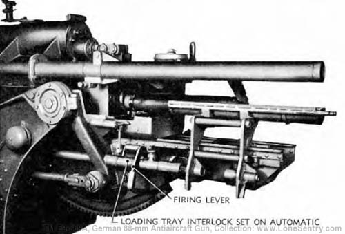 IV  Operation | 2  German 88-mm Antiaircraft Gun and Mount | TM E9
