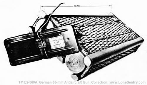 3  Ammunition | TM E9-369A: German 88-mm Antiaircraft Gun Materiel