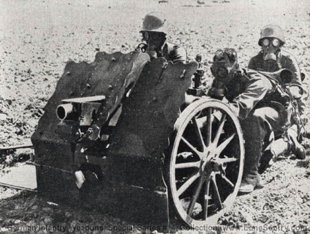7.5-cm Light Infantry Howitzer: German Infantry Weapons, WWII Military  Intelligence Service, Special Series No. 14, May 25, 1943 (LoneSentry.com)