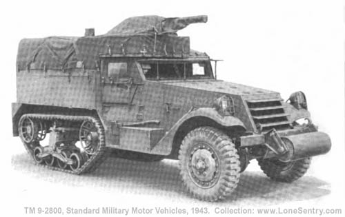 Car, Half-Track, M2A1   TM 9-2800: Standard Military Motor